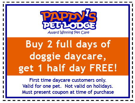 Pappy's Daycare Coupon