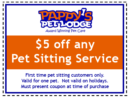 Pappy's Pet Sitting Coupon