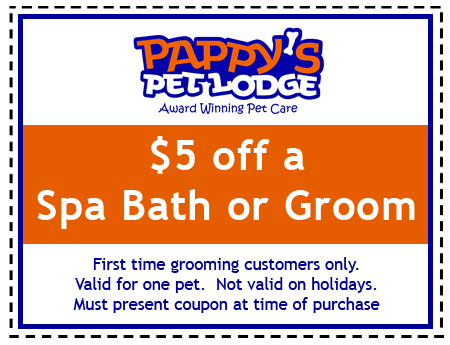 Pappy's Grooming Coupon