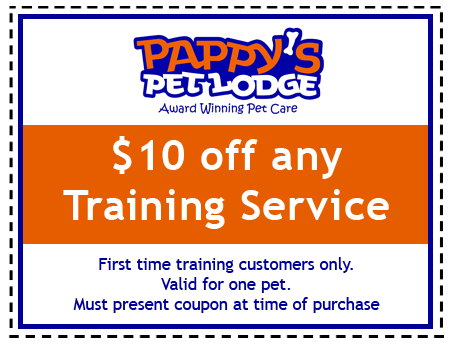 Pappy's Training Coupon